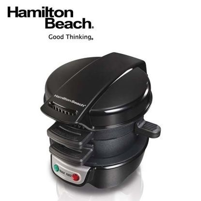 Picture of Hamilton Beach Breakfast Sandwich Maker-Black 25477-PH