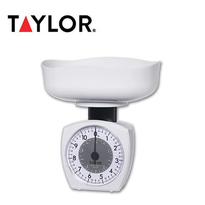 Picture of Taylor 11 lb / 5 kg Mechanical Kitchen Scale 3701KL