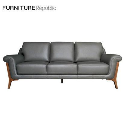 Picture of Furniture Republic Leather Sofa 204090