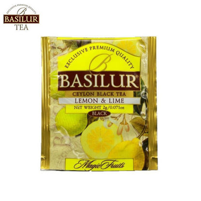Picture of Basilur Tea Lemon & Lime 100 Tea Bags
