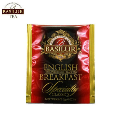 Picture of Basilur Tea English Breakfast 100 Tea Bags