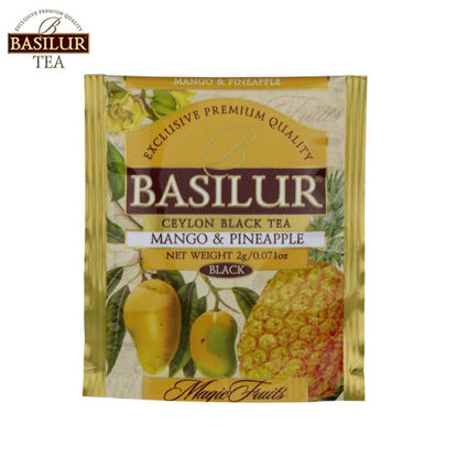 Picture of Basilur Tea Mango and Pineapple 100 Tea Bags