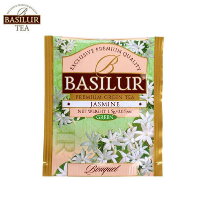 Picture of Basilur Tea Jasmine Green 100 Tea Bags