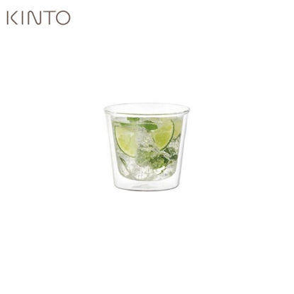 Picture of Kinto Cast Double Wall Rock Glass