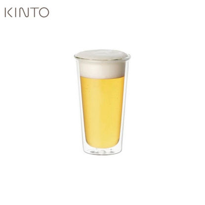 Picture of Kinto Cast Double Wall Beer Glass