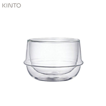 Picture of Kinto Kronos DOuble Wall Tea Cup 200ml