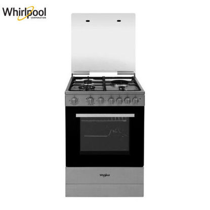 Picture of Whirlpool AEG631 IX 60cm 4 Gas Burner Cooking Range
