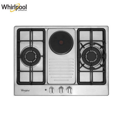 Picture of Whirlpool AKC720C IX 70cm 2 Gas Burners Built-in Hob