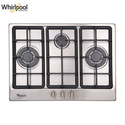 Picture of Whirlpool AKC730C IX 70cm 2 Gas Burners Built-in Hob