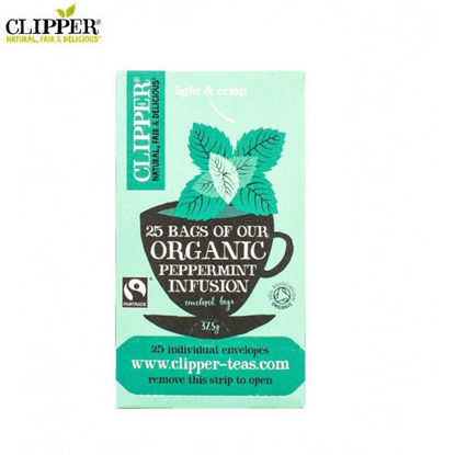 Picture of CLIPPER Peppermint Tea 25 Bags (37.5g)