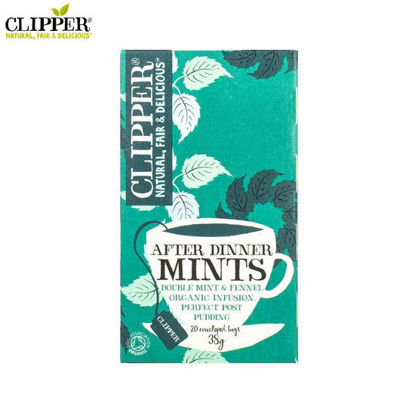 Picture of CLIPPER After Dinner Mints 20 Bags (38g)