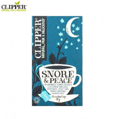 Picture of CLIPPER Snore & Peace 20 Bags (30g)