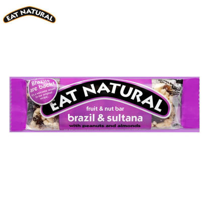 Picture of Eat Natural Brazil & Sultana with Peanuts and Apricots 3 Pack (50g)