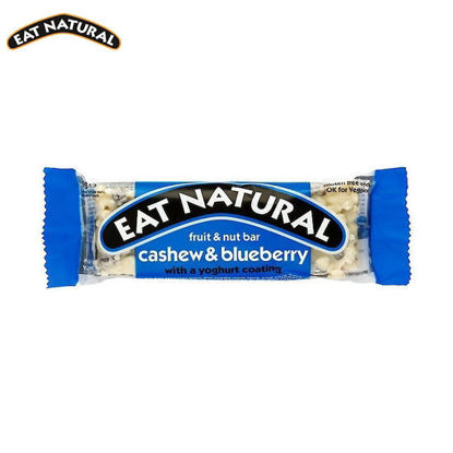 Picture of Eat Natural Cashew & Blueberry with a Yoghurt Coating (45g)