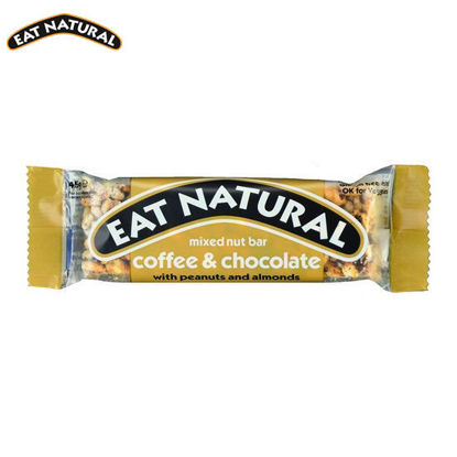 Picture of Eat Natural Coffee & Chocolate with Peanuts and Almonds (45g)