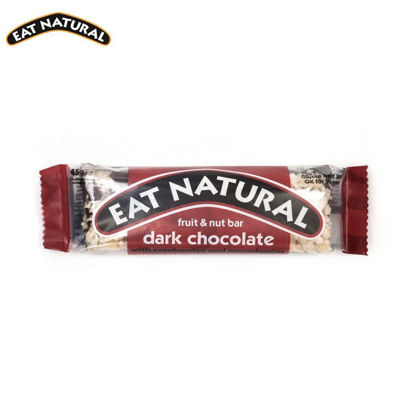 Picture of Eat Natural Dark Chocolate with Cranberries and Macadamia (45g)