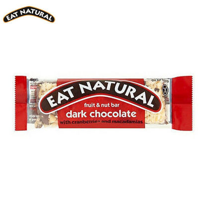 Picture of Eat Natural Dark Chocolate with Cranberries and Macadamia 3 Pack (3x45g)