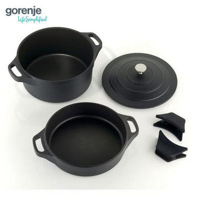 Picture of Gorenje Aluminum Cookware Set - Black (CWAL31BK)