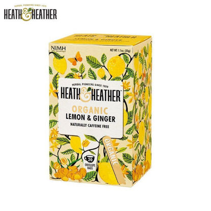 Picture of Heath & Heather Organic Lemon & Ginger (30g)
