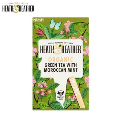Picture of Heath & Heather Organic Green Tea with Manuka Honey (40g)