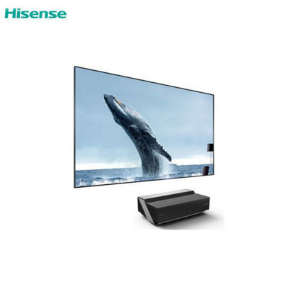 "Picture of HISENSE 100L10E 100"" 4K UHD Smart Laser TV with Free  RC-67WS or 65A6505"