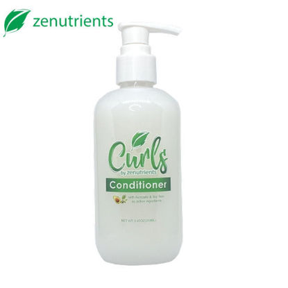 Picture of Curls By Zenutrients Avocado & Tea Tree Protein - Free Conditioner - 250ml