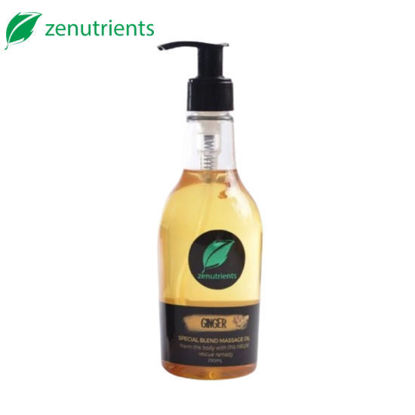 Picture of Zenutrients Ginger Special Blend Massage Oil - 250ml
