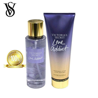 Picture of Victoria's Secret Love Addict Frag Lotion 236ml + Victoria's Secret Love Addict Frag Mist 250ml