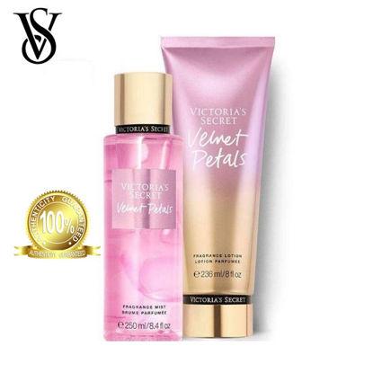 Picture of Victoria's Secret Velvet Petals Frag Lotion 236ml + Victoria's Secret Velvet Petals Frag Mist 250ml