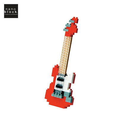 Picture of Nanoblock Electric Guitar Red