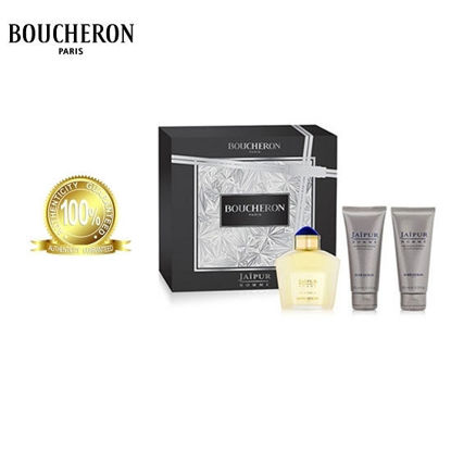 Picture of Boucheron Jaipur Homme EDP 100ml+100ml Aftershave Balm+100ml Shower Gel Set For Men