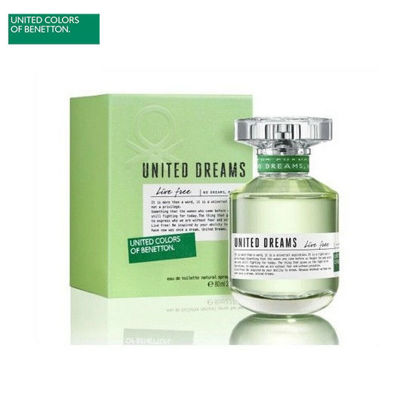 Picture of United Colors of Benetton United Dreams Live Free Eau de Toilette for Women 80ml