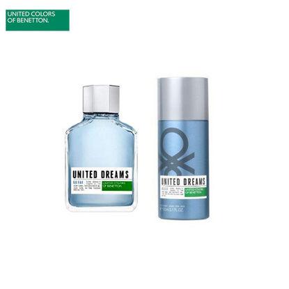 Picture of United Colors of Benetton United Dreams Go Far Eau de Toilette 80ml + Deodorant Spray 150ml