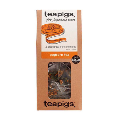 Picture of teapigs Popcorn Tea 15 Temples (37.5g)