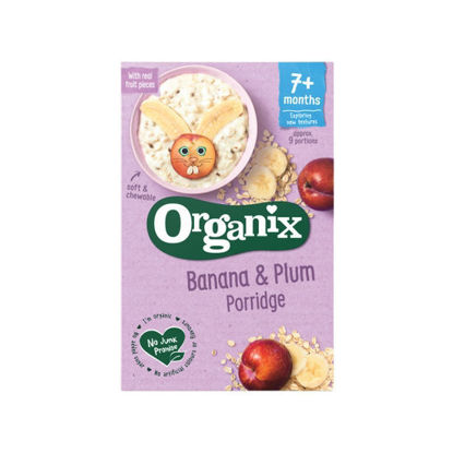 Picture of BUY 1 - TAKE 1 Organix Banana & Plum Porridge (200g)