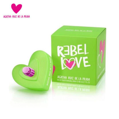 Picture of Agatha Ruiz Rebel Love EDT 80ML