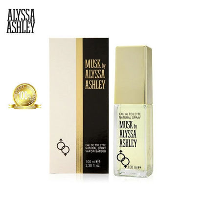 Picture of Alyssa Ashley Musk Eau de Toilette for Men and Women 100ml