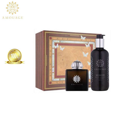 Picture of Amouage Memoir Women Edp 100Ml + 300Ml Sgel Marquetry Box