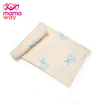 Picture of Mamaway Chitin Muslin Wrap Swaddle Blue