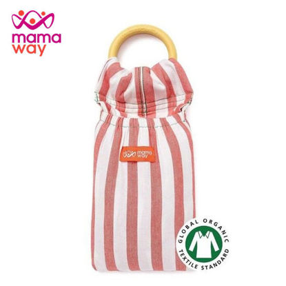 Picture of Mamaway Tomato Cheese Baby Ring Sling Tomato Cheese
