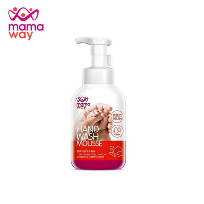 Picture of Mamaway Aloe Antibacterial Handwash Cream Mousse - White 350ml