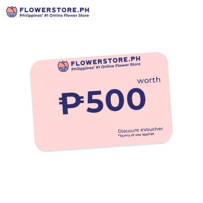 Picture of Flowerstore.ph 500.00 worth of Voucher