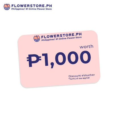 Picture of Flowerstore.ph 1,000.00 worth of Voucher