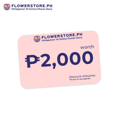 Picture of Flowerstore.ph 2,000.00 worth of Voucher