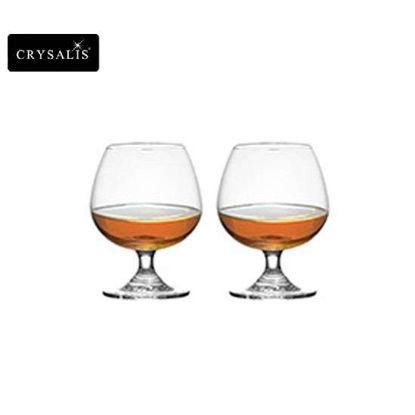 Picture of CRYSALIS Premium Lead Free Crystal Stemware Brandy Glass Cognac Glass 410ml | 14oz Set of 2