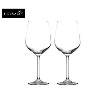 Picture of CRYSALIS Premium Lead Free Crystal Stemware Cabernet Glass Cocktail Glass 627ml | 22oz Set of 2