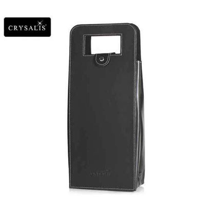 Picture of CRYSALIS Premium Wine Accessories Wine Lovers Wine Bag with Handle for 2 Bottles of Wine, Water Proof, Stain Resistant