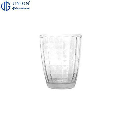 Picture of UNION GLASS Thailand Premium Clear Glass Rock Glass Water, Juice, Soda, Liquor Glass 250ml | 13oz Set of 6