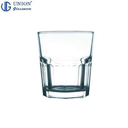 Picture of UNION GLASS Thailand Premium Clear Glass Rock Glass Water, Juice, Soda, Liquor Glass 306ml | 10.5oz Set of 6