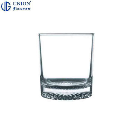 Picture of UNION GLASS Thailand Premium Clear Glass Rock Glass Water, Juice, Soda, Liquor Glass 245ml | 9oz Set of 6